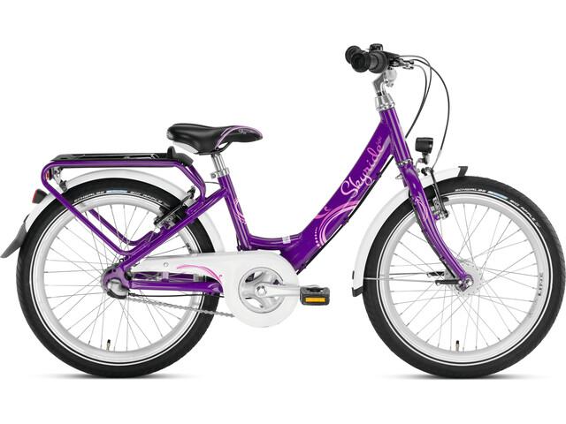 """Puky Skyride 20-3 Alu Light Bicycle 20"""" Kids, purple"""
